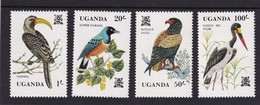 Uganda 1982, Birds, Complete Set MNH. Cv 8,50 Euro - Uganda (1962-...)