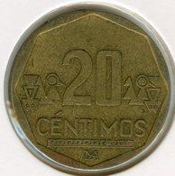 Pérou Peru 20 Centimos 2004 KM 306.4 - Pérou