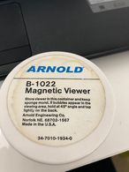 ARNOLD MAGNETIC VIEWER B-1022 TO READ PHONECARD WITH MAGNETIC BAND - USED NOT GOOD CONDITIONS AS THE IMAGINES - Materiale