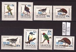 Niuafo'ou - Tin Can Island 1986, Birds, Complete Set MNH. Cv 47 Euro - Tonga (1970-...)