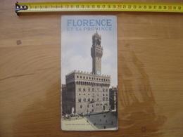 Dépliant Guide Brochure Touristique FLORENCE ET SA PROVINCE Italie Ente Provinciale Per Il Turismo - Dépliants Touristiques