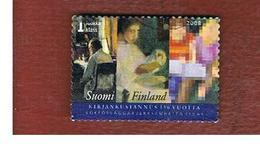 FINLANDIA (FINLAND) -  MI 1905  -  2008  150^ ANNIVERSARY OF BOOK PUBLISHING  -       USED ° - Finlandia