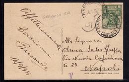 LIBIA 6 9 1936 CARTOLINA CIRENAICA BARCE FESTA VII BATT. LIBICO CARD FIRMATO SIGNED - Libia