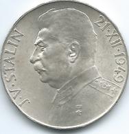 Czechoslovakia - 1949 - 50 Korun - 70th Birthday Of Josef Stalin - KM28 - Czechoslovakia