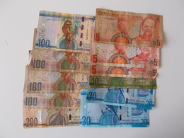 Lot Bestaande Uit 11 Lopende  Biljetten, Gambiaanse Dalasi, Totale Waarde 665 Dalasi. GMD Gambia - Gambie