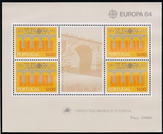 Portugal, 1984, 1630 Block 43, Europa.  MNH ** - Blocs-feuillets