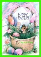PÂQUES - HAPPY  EASTER-  HALLMARK CARDS INC - AMBASSADOR -  BABY RABBIT - - Pâques