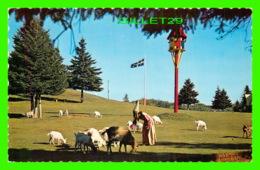 VAL-DAVID, QUÉBEC - VILLAGE DU PÈRE NOEL - LA FÉE ET LE TROUPEAU - LUCIEN BONNET - - Quebec