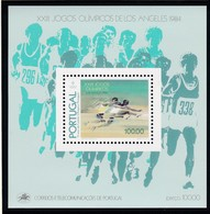 Portugal, 1984, 1639 Block 45, Olympische Sommerspiele, Los Angeles.  MNH ** - Blocks & Sheetlets