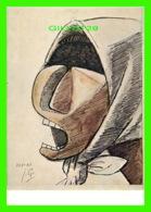 PEINTURE - JULIO GONZALEZ  (1876-1942) - HEAD OF A CRYING PEASANT WOMAN IN 1941 - - Peintures & Tableaux