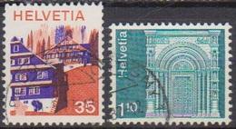 Schweiz 1975  MiNr.1067 + 1068 O Gest.  ( 5077 )günstige Versandkosten - Svizzera