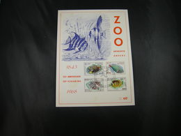 "BELG.1968 1470 1471 1472 &1473 FDC Phila Card (Antwerpen) : "" Solidariteit / Soldarité ZOO ANTWERPEN/ANVERS   "" - Cartes Souvenir"