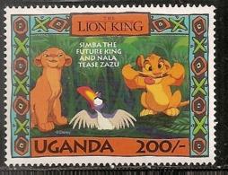 OUGANDA NEUF SANS TRACE DE CHARNIERE - Ouganda (1962-...)