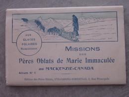 Carnet 10 Vues .. Missions Aux Glaces Polaires - Misiones