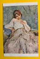 8143 - Le Jupon De Dentelles  D'Otto Vautier Peintre Suisse - Peintures & Tableaux