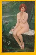 8148 - Pâquerette Par H.Gsell Salon De Paris  Nu - Peintures & Tableaux