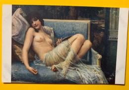 8149 - Indolence De G.Seignac Salon De Paris  Nu - Peintures & Tableaux