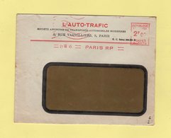 EMA - Machine C - L'auto Trafic - 1945 - Marcophilie (Lettres)