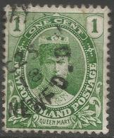 Newfoundland. 1911-16 Coronation. 1c Used SG 117 - Newfoundland