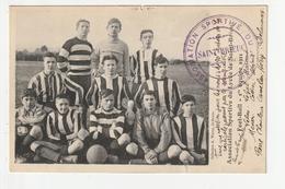 SAINT BRIEUC - ASSOCIATION SPORTTIVE DU LYCEE DE ST BRIEUC - FOOTBALL 1ére EQUIPE 1911 - 22 - Saint-Brieuc