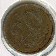 Brésil Brazil 20 Centavos 1943 KM 556 - Brazil