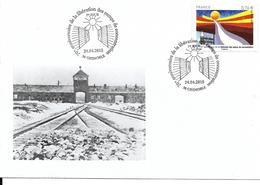 SECONDE GUERRE MONDIALE 1939 1945 - 70eme ANNIVERSAIRE LIBERATION DES CAMPS DE CONCENTRATION - Seconda Guerra Mondiale
