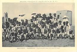 Afrique SOUDAN Français Et HAUTE-VOLTA (Burkina Faso) OUAGADOUGOU Groupe De Petits élèves De La Classe De Français - Burkina Faso