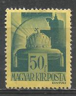 Hungary 1945. Scott #680 (M) Crown Of St. Stephen, Without Surcharge * - Hongrie