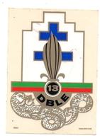 Adhésif Légion 13 ème DBLE - Militaria