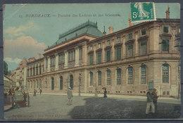 CPA [33] - BORDEAUX - Faculté Des Lettres Et Des Sciences - Bordeaux