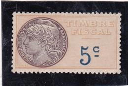 T.F.S.U N°5 Neuf - Revenue Stamps