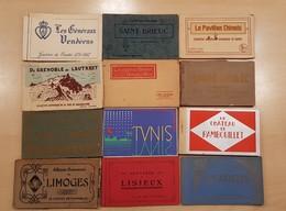Lot 150 Carnets Et 100 Enveloppes PF - France Etranger - Cartes Postales