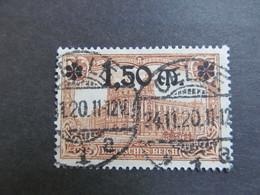 DR 117) DR 117 BPP Geprüft Gestempelt KW 9€ - Used Stamps
