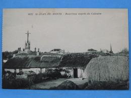 Saint-Jean-de-Monts : RARE !!!!! Bourrines Auprés Du Calvaire - Saint Jean De Monts