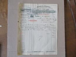 FOUGERES LA CHAUSSURE FOUGERAISE MANUFACTURE DE CHAUSSURES USINE DES COTTERETS (LAIGNELET) FACTURE DU 14 NOVEMBRE 1924 - Frankreich