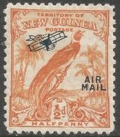 New Guinea. 1932-4 Air Overprint. Bird Of Paradise. ½d MH. SG 190 - Papua New Guinea