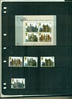 GRANDE BRETAGNE LONDON 80 I CHATEAUX 4 VAL + BF NEUFS A PARTIR DE 0.75 EUROS - 1952-.... (Elizabeth II)