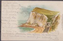 Dover, Douvres Carte Postale Circulée 1900. - Otros