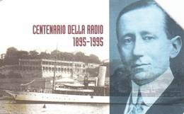 SCHEDA TELEFONICA  CENTENARIO DELLA RADIO MARCONI  SCADENZA 31/12/1996 USATA - Italy