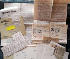JEUX D'ECHECS - Correspondance De 15 Lettres Et Cartes Avec CROQUIS, EXPLICATIONS Entre BELGIQUE Et FRANCE Années 70 - Other