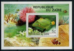 ZAIRE ( BLOC ) Y&T  N°  23  BLOC  NEUF  SANS  TRACE  DE  CHARNIERE . - Zaïre