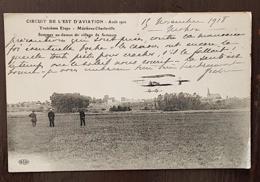 CIRCUIT DE L'EST D'AVIATION Aout 1910. Troisieme Etape. Sommer Au Dessous Du Village De Semeuse - Charleville