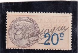 T.F.S.U N°8a - Revenue Stamps