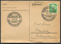 1939 Germany Deutsche Schiffspost Postcard. SUDLICHES EISMEER, Walfangflotte Wikinger - Briefe U. Dokumente