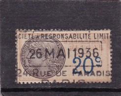 T.F.S.U N°8b - Revenue Stamps