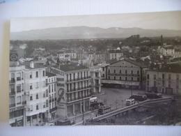 66 Perpignan Vue Panoramique Place Des Variétés Les Corbieres - Perpignan