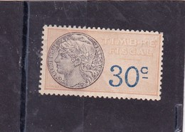 T.F.S.U N°10 Neuf - Revenue Stamps