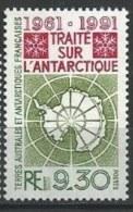 """TAAF YT 162 """" Traité Sur L'Antarctique """" 1991 Neuf** - Neufs"""