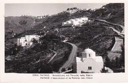 PATMOS - L'Apocalypse Et La Patmias Vers Chora - Grecia