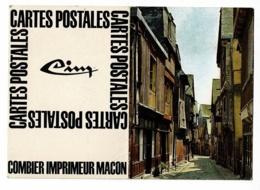 Calendrier 1971, Format 10.5 X 15 Cm (ouvert) Publicité Combier Imprimeur Macon (71) Cartes Postales CIM - Calendarios